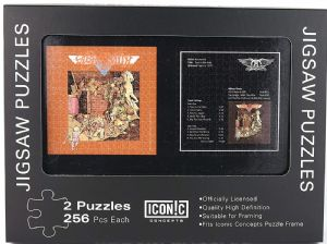 Aerosmith Toys In The Attic Double Jigsaw Puzzle In Tin (icc)